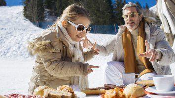 Ir a esquiar puede ser una aventura para toda la familia