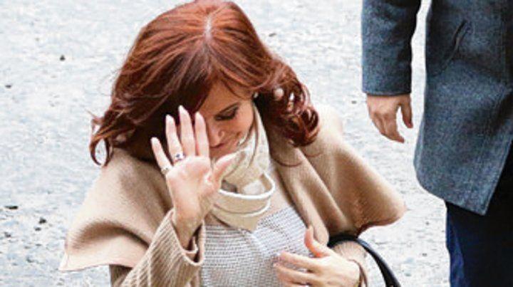Senadora. Cristina Kirchner.