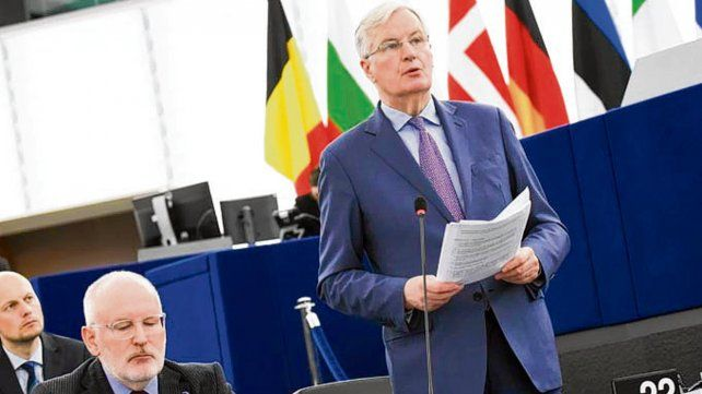 bloque. Michel Barnier