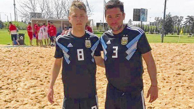 Los Ponzetti. Lucas y Maximiliano