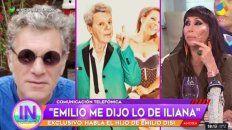 El hijo de Emilio Disi confirmó el amorío de su padre con Iliana