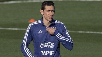 Di María se lesionó y fue desafectado del seleccionado argentino