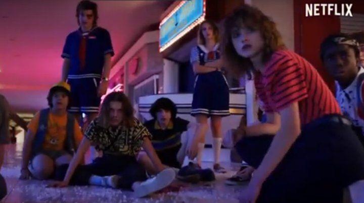 Netflix lanzó el tráiler de la tercera temporada de Stranger Things