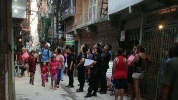 villa 31. Liliana González, de 37 años, fue asesinada en su casa.