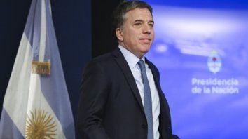 El ministro de Hacienda, Nicolás Dujovne, dijo que la recesión se terminó y que crece la economía.