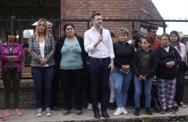 López Molina se comprometió a ir contra el delito y las mafias