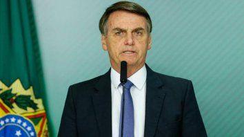 Cada uno responde por sus actos, dijo Bolsonaro
