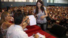 La provincia suspendió la titularización de docentes debido a las medidas de fuerzas dispuestas por los docentes. (Foto de archivo: Ministerio de Educación)