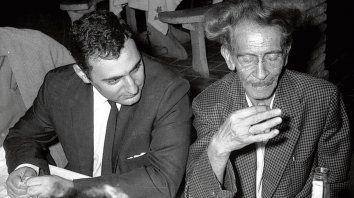 Juan José Saer y Juan L. Ortiz.