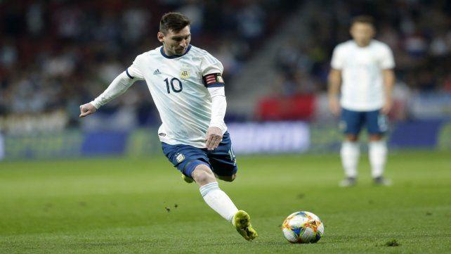 El capitán argentino no logró desplegar su magia en su totalidad.