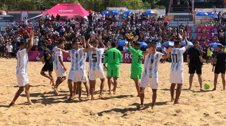 Argentina fue goleada por Brasil en fútbol y se quedó con la plata