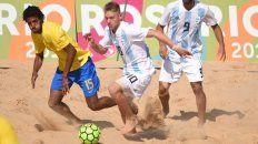 argentina perdio con brasil en futbol y logro la medalla de plata
