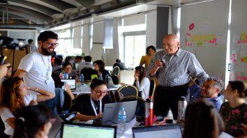 Antonio Bonfatti destacó la importancia de las empresas startups.