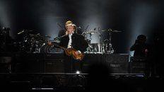 Talento. Con su banda de siempre, Paul dio otro concierto magistral.