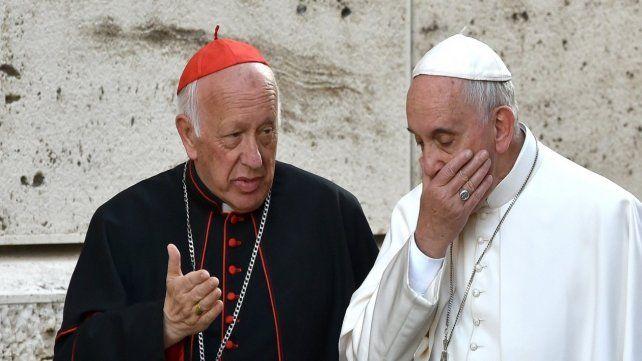 Preocupación. Ezzati y Francisco en una foto de años atrás cuando ya trascendían las acusaciones.