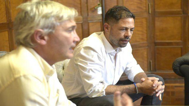Reflexivos. Carloni y Di Pollina anunciaron cambios en las divisiones inferiores. Para el futuro piensan en Leo Fernández.