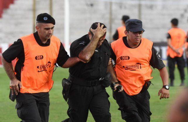 La violencia le ganó la pulseada al fútbol
