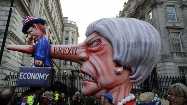 Marcha. Un millón de personas pidieron el sábado en Londres un segundo referéndum sobre el Brexit. .