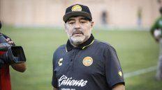 Dardos. Maradona se despachó a gusto.