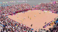 Rosario pisó fuerte en los Juegos de Playa