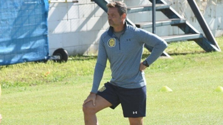 Entrenador canalla. Diego Cocca asumió el pasado miércoles y anhela revertir el delicado cuadro de situación que envuelve a Central.