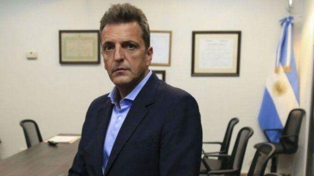 Cristina se solidarizó con Massa tras el robo en oficinas del Frente Renovador