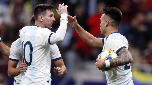 ¿Y por qué no juega Messi?