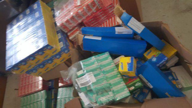 Cayó una banda de mecheras que robó más de cinco mil cajas de medicamentos