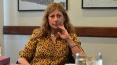 Polémica. La jueza Felicitas Maiztegui Marcó niega el genocidio.