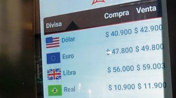 Ritmo. El dólar operó en alza y volvió al nivel de principio de marzo.