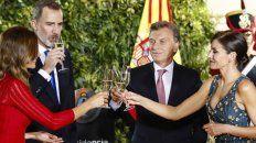 Macri aseguró a los reyes de España que va a ganar en octubre
