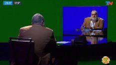 Lanata volvió a la televisión con una entrevista a sí mismo