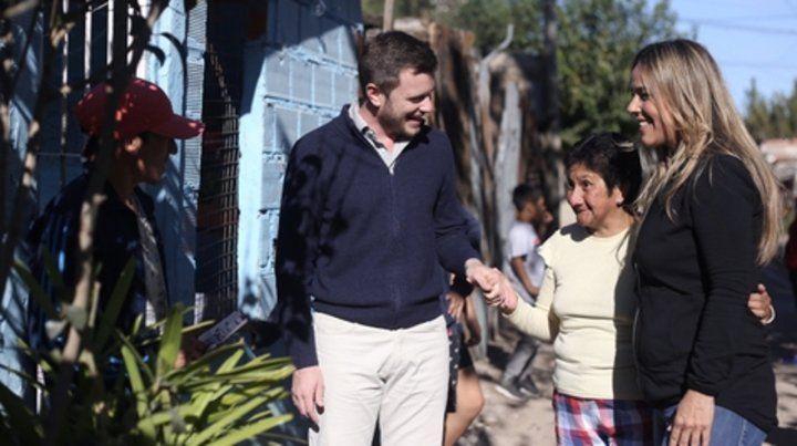 Roy y León destacaron el plan de obras de la Nación para los barrios.