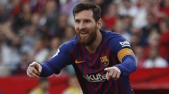 Messi entrenó con normalidad y no se perderá el clásico catalán.