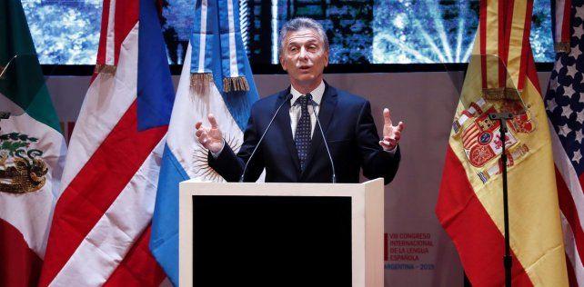 El presidente Mauricio Macri salió al cruce a la corrida cambiaria en su paso por la ciudad de Córdoba.
