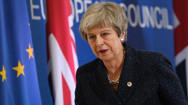 Theresa May puso sobre la mesa su renuncia si el Poder Legislativo aprueba su acuerdo para salir de la Unión Europea.