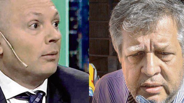 Dupla. El falso abogado DAlessio y el fiscal Stornelli.