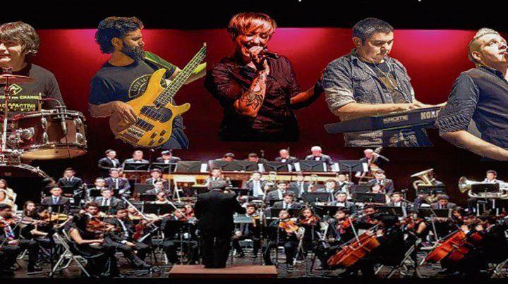 Encuentro solidario. La banda y la orquesta sinfónica actúan el sábado.