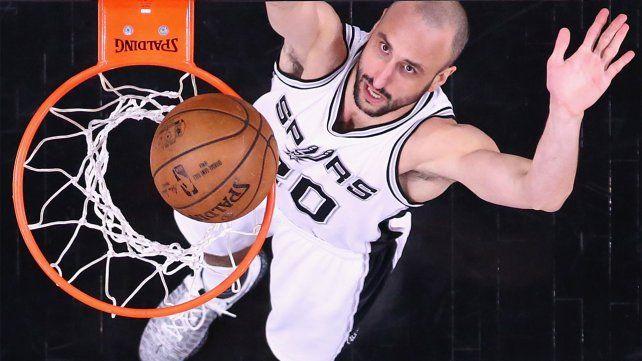 La NBA difundió un emotivo video sobre Manu Ginóbili