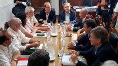 la provincia convoco a los gremios estatales a reunion paritaria