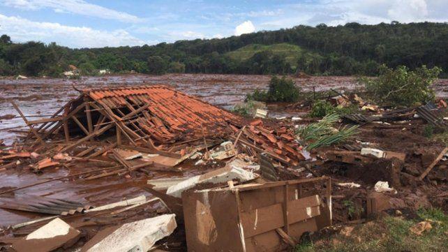 En Brumadinho hubo 212 muertos y 93 desaparecidos.