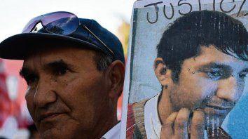 reclamo. Ramón Casco, el padre de Franco y su pedido de justicia.