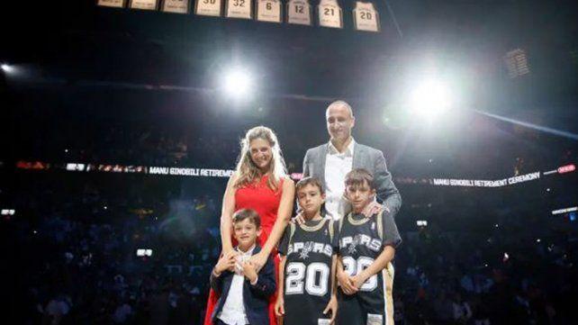 El discurso completo de Manu Ginóbili en el homenaje los Spurs