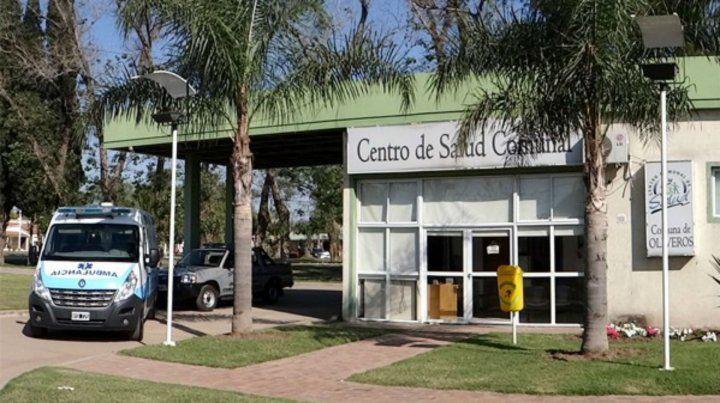 El centro de salud de la comuna de Oliveros