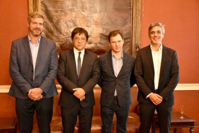 Scaglione lidera el grupo empresario comprador.