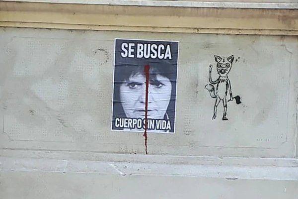 Aparecieron en Rosario carteles amenazantes contra Bullrich y Bergman