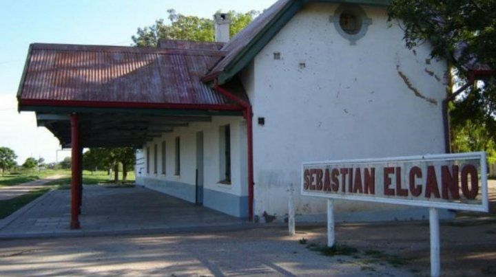 Paraje. Estación de la localidad donde ocurrió el vejamen.
