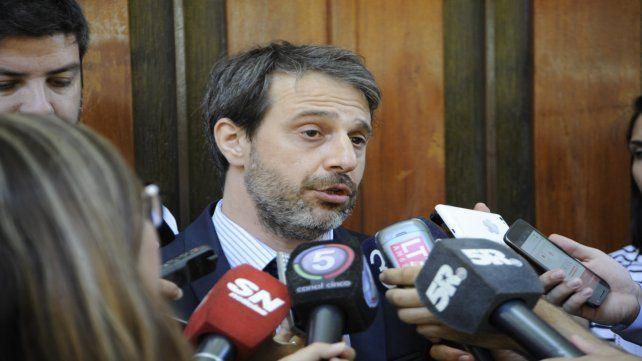 Fiscal. Miguel Moreno llevó adelante la investigación y la imputación.