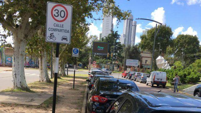 La ciclovía en calle Junín generó controversias.