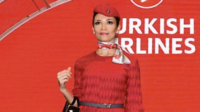 Turkish Airlines presentó sus nuevos uniformes